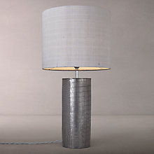 Buy David Hunt Caimen Table Lamp, Pewter Online at johnlewis.com