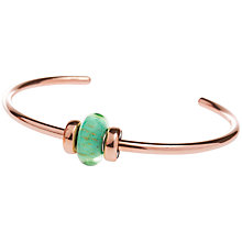 Buy Trollbeads Seabed Copper Italian Glass Bead Bangle Online at johnlewis.com