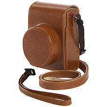 Buy Canon DCC-1820 Soft Leather Case For Powershot G1 X Mark II Online at johnlewis.com