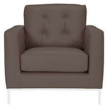 Buy John Lewis Odyssey Leather Armchair Online at johnlewis.com