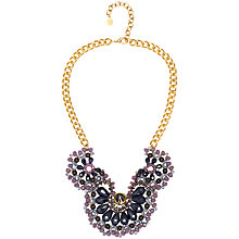 Buy Adele Marie Chain Bead Necklace, Gold/Purple Online at johnlewis.com