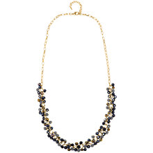 Buy Adele Marie Yellow Gold Purple Grey Beaded Rope Necklace, Gold Online at johnlewis.com