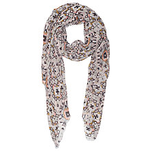 Buy French Connection Modal Mosaic Lacey Scarf, Anemone Online at johnlewis.com