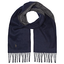 Buy Polo Ralph Lauren Reversible Wool Blend Scarf Online at johnlewis.com