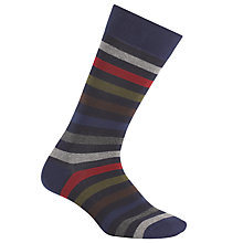 Buy Gant Multi Stripe Socks, One Size Online at johnlewis.com