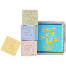 Buy L'Occitane Bonne Mere Soap Quattro, 4 x 100g Online at johnlewis.com