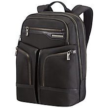 "Buy Samsonite GT Supreme 15.6"" Laptop Backpack, Black Online at johnlewis.com"