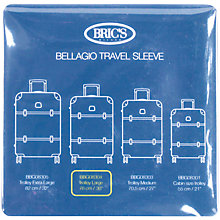 Buy Bric's 30-Inch Transparent Bellagio Trolley Cover, Clear Online at johnlewis.com