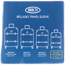 Buy Bric's Bellagio Cabin 55cm Transparent Suitcase Cover Online at johnlewis.com
