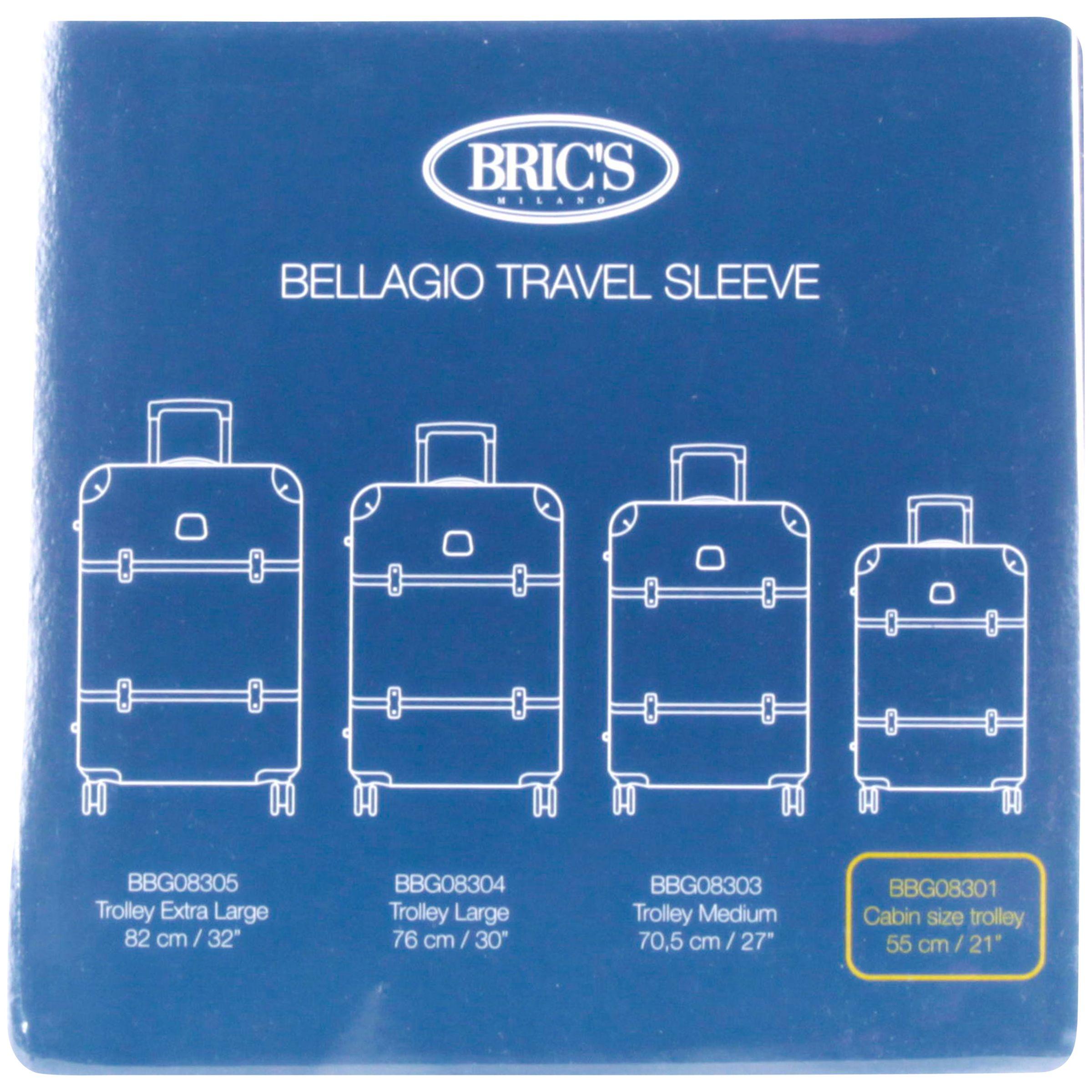 Bric's Bric's Bellagio Cabin 55cm Transparent Suitcase Cover