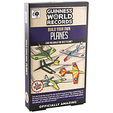 Buy Paladone Guinness World Record Build Your Own Plane Online at johnlewis.com