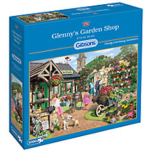 Buy Gibsons Glenny's Garden Shop Jigsaw Puzzle, 1000 Pieces Online at johnlewis.com