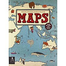 Buy Maps Book by A.Mizielinska & D. Mizielinski Online at johnlewis.com