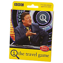 Buy QI Travel Game Online at johnlewis.com