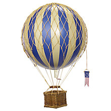 Buy Authentic Models Travels Light Hot Air Balloon, Blue Online at johnlewis.com
