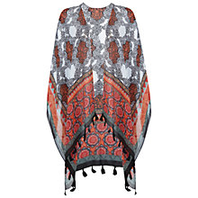 Buy Miss Selfridge Tile Print Cape, Assorted Online at johnlewis.com