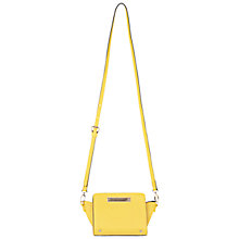 Buy Miss Selfridge Ultra Mini Cross Body Bag, Sunny Yellow Online at johnlewis.com