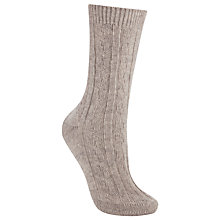 Buy John Lewis Cashmere Bed Ankle Socks, Pack of 1 Online at johnlewis.com
