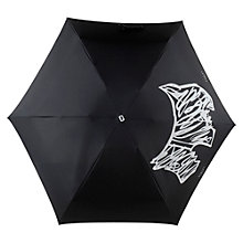 Buy Radley Scribble Dog Umbrella, Black/Aluminium Online at johnlewis.com