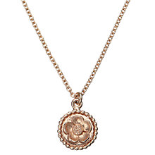 Buy Alex Monroe Buttercup Cameo Necklace Online at johnlewis.com