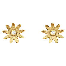 Buy Estella Bartlett Sterling Silver Vintage Mini Flower Stud Earrings Online at johnlewis.com