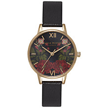 Buy Olivia Burton Women's Oriental Opulence Leather Strap Watch Online at johnlewis.com
