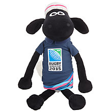 Buy Rugby World Cup 2015 Shaun The Sheep Mascot, 45cm, Assorted Colours Online at johnlewis.com
