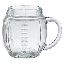 Buy John Lewis Rugby Beer Glass Online at johnlewis.com