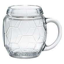 Buy John Lewis Football Beer Glass Online at johnlewis.com