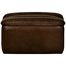 Buy Halo Russo Leather Footstool Online at johnlewis.com