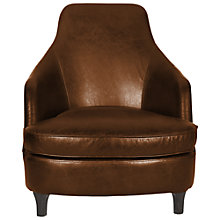 Buy Halo Sebastian Aniline Leather Armchair Online at johnlewis.com