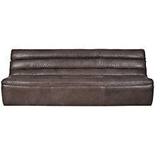 Buy Halo Russo 3 Seater Leather Sofa Online at johnlewis.com