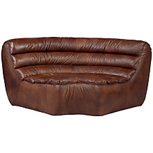 Buy Halo Russo Leather Corner Unit Online at johnlewis.com