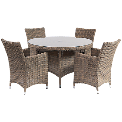 Suntime Dune 4-Seater Outdoor Dining Set