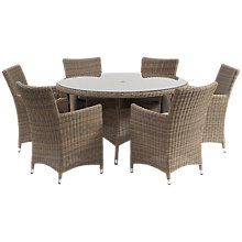 Buy Suntime Dune 6-Seater Outdoor Dining Set Online at johnlewis.com