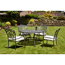 Buy Royalcraft Chatsworth 4-Seater Round Set Online at johnlewis.com