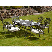 Buy Royalcraft Chatsworth 6-Seater Rectangular Set Online at johnlewis.com