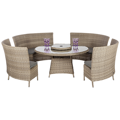 Royalcraft Wentworth 6-Piece Bench Dining Set