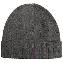 Buy Polo Ralph Lauren Merino Wool Beanie Hat, One Size Online at johnlewis.com