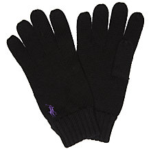 Buy Polo Ralph Lauren Merino Wool Gloves, One Size Online at johnlewis.com
