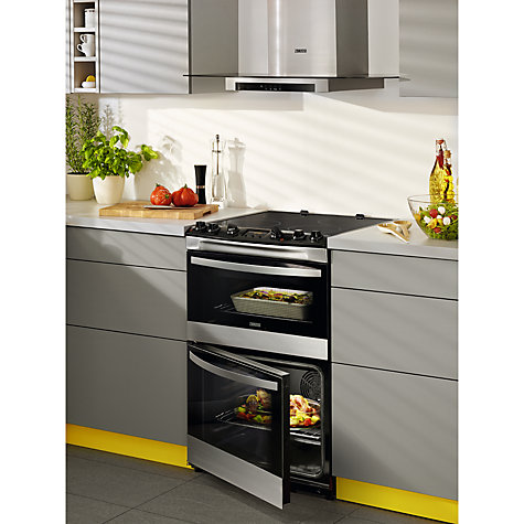 Buy Zanussi Zci68300xa Electric Cooker Stainless Steel