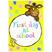 Buy Woodmansterne Gruffalo's Child Greeting Card Online at johnlewis.com