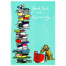 Buy Woodmansterne Dog Reading Greeting Card Online at johnlewis.com