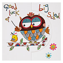Buy Rachel Ellen Good Luck At Big School Card Online at johnlewis.com