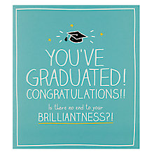 Buy Happy Jackson Graduation Congratulations Card Online at johnlewis.com