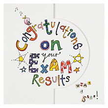 Buy Rachel Ellen Exam Congratulations Greeting Card Online at johnlewis.com