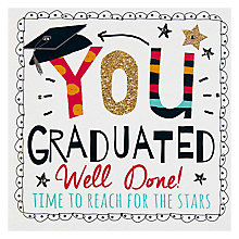 Buy Hammond Gower You Graduated Greeting Card Online at johnlewis.com