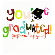 Buy Caroline Gardner You've Graduated Greeting Card Online at johnlewis.com