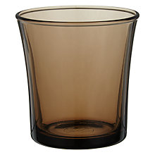 Buy Duralex Creole Glass Tumbler, Brown Online at johnlewis.com