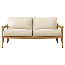 Buy Case Stanley Medium Leather Sofa Online at johnlewis.com